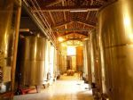 Viticulural castle's vinification cellar